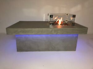 Loungetisch Mit Gas Feuerstelle Ebay