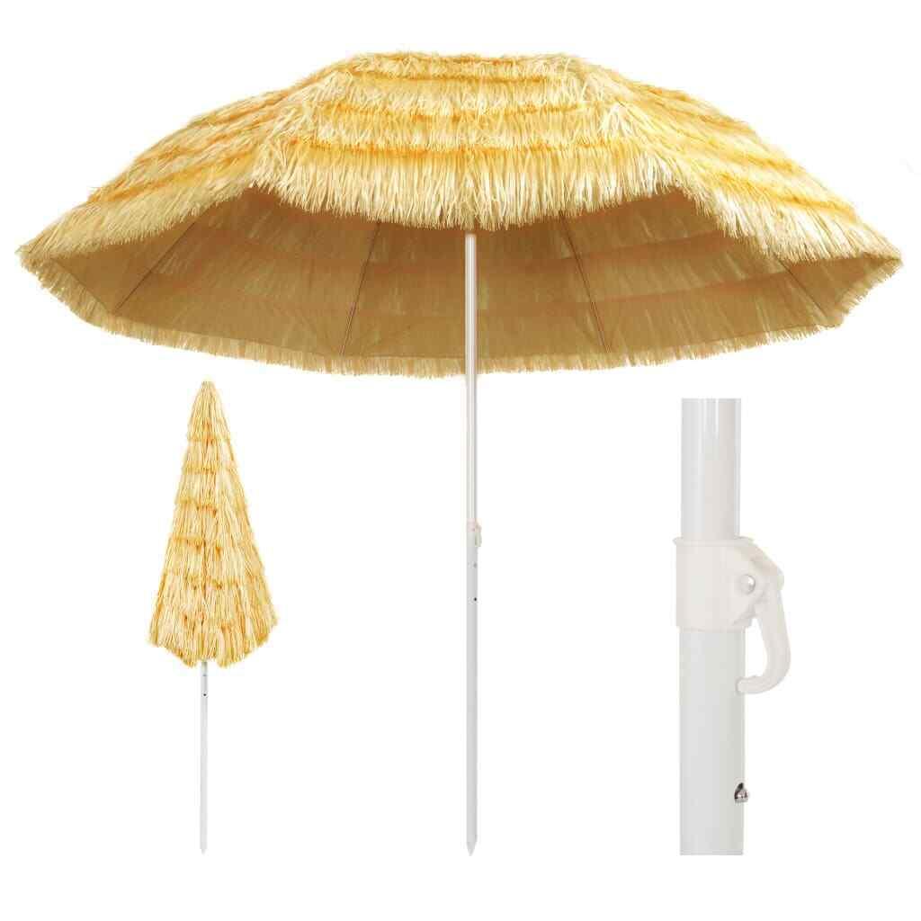 beach umbrella hawaii style garden patio parasol