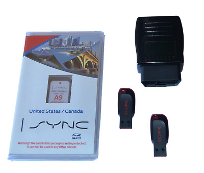 Ford Lincoln MyFord Touch Sync 2 GPS Navigation Upgrade