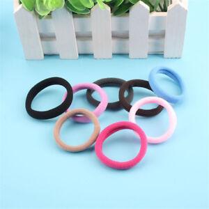 50Pcs-Women-Girls-Hair-Band-Ties-Rope-Ring-Elastic-Hairband-Ponytail-Holder-New