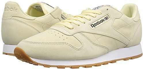 Reebok Classic Leather Pastels Men's shoes Wahsed Yellow White BS8970