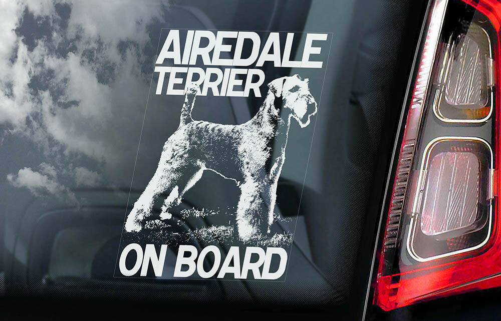 DETAILED FOX TERRIER TERRIERS DOG GRAPHIC DECAL STICKER CAR VINYL WALL
