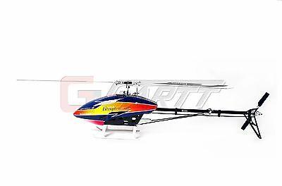 Global Eagle 480N DFC RC Nitro Torque Tube Mini Helicopter Kit W/ Engine Blades