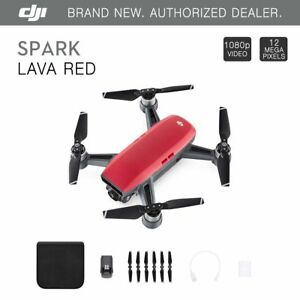 DJI-Spark-Lava-Red-Quadcopter-Drone-12MP-1080p-Video