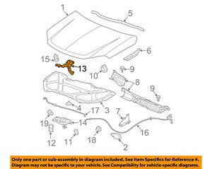 GM OEM Lock Latch 23258148 84075292