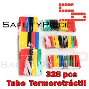 328Pcs-Surtido-Tubo-Termoretractil-de-Colores-Aislante-para-cables-8-medidas