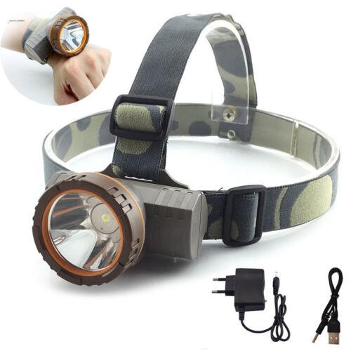 Powerful LED Headlight  Headlamp flashlight head Lamp Torch Hunting camping set
