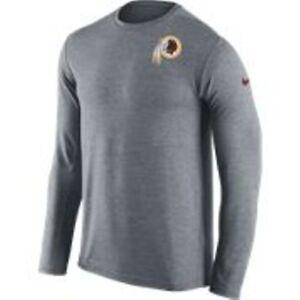 eda4d6092 New Nike Men's Dri-FIT NFL Washington REDSKINS Long Sleeve T-shirt ...