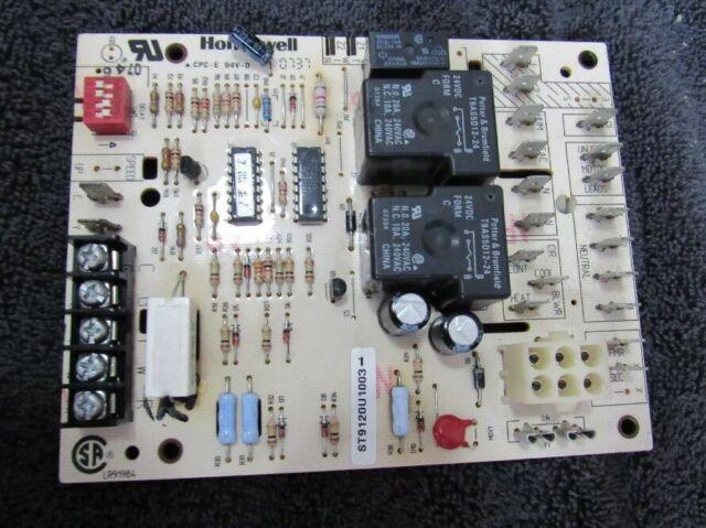 ICP Heil Tempstar Sears Honeywell Furnace Fan Control Circuit Board ST9120U1003