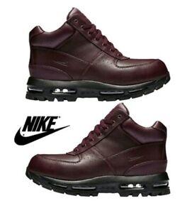 77ad654a26 Nike Air Max Goadome Waterproof Boots Burgundy/Black 806902-660 Size ...
