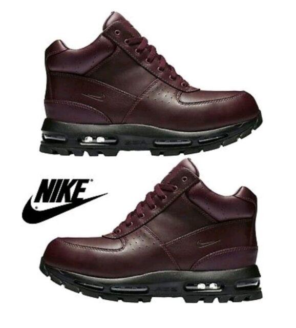 b36ecd57e8a Nike Air Max Goadome Waterproof Boots Burgundy/Black 806902-660 Size 9.5