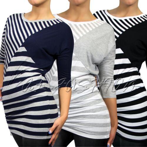 NEU! Fresh Made Longsleeve - Damen Shirt  Streifenlook Gr.XS-XL