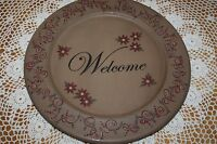 Karen Schwarz Large 13 Woodenware Plate 32161 Hearthside Collection Christmas