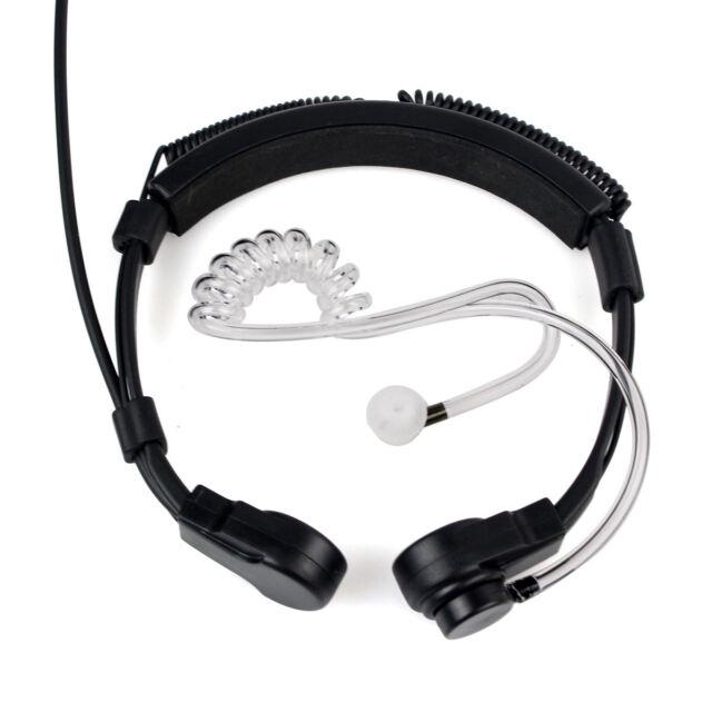 3.5mm Covert Acoustic Tube Earpiece Earphone Headset 1 PIN for Motorola Radio