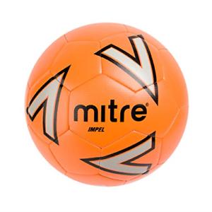 taille 4 orange MITRE Impel Entraînement Football sans Balle Pompe