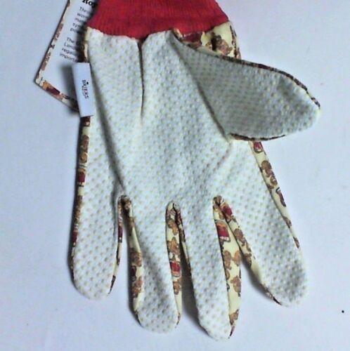 Briers couronne royale coton Grip Gants-Moyen-Twin Pack-B4450 #9A184