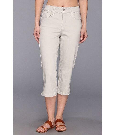 NEW NYDJ Not Your Daughter Jeans Hayden crop capri pants STONE 6P 8P 10P 14P 16P