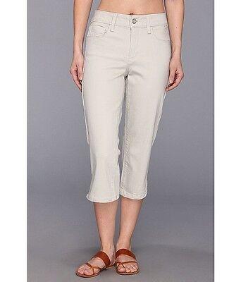 NEW NYDJ Not Your Daughters Jeans  Hayden CROP capri pants STONE beige 2 4 6