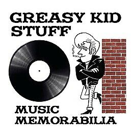 Greasy Kid Stuff Music Memorabilia