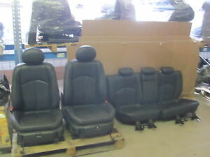 Leather-Trim-Leather-Seats-Mercedes-Benz-W211-Estate-Parts-Electric
