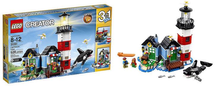 LEGO 31051 Creator Set Costruzioni Punta del Faro