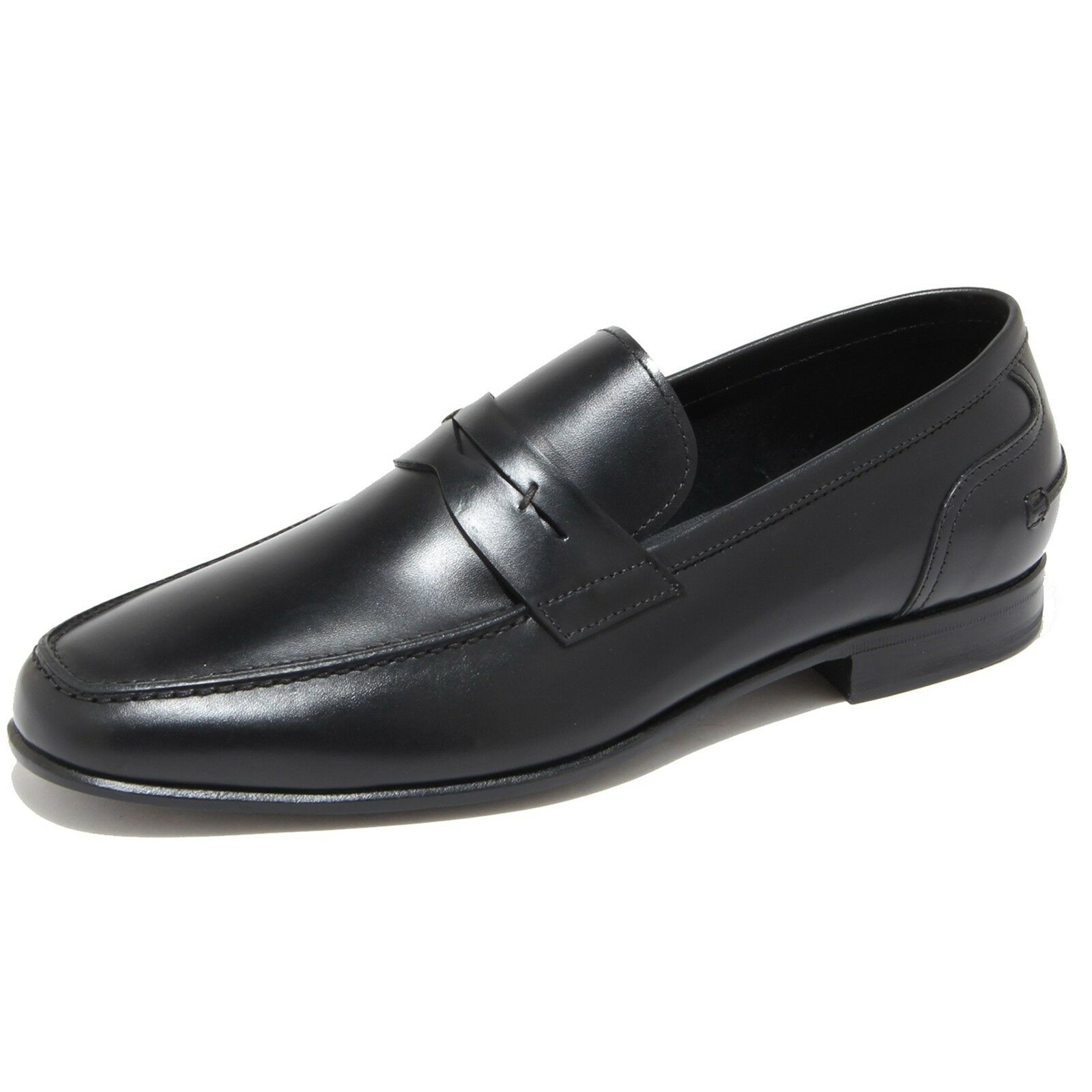 9690I mocassini uomo neri J. men HOLBENS scarpe loafers shoes men J. 9f166b