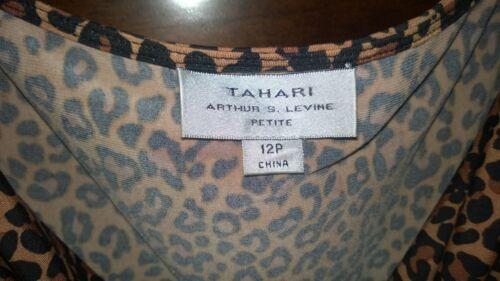 Haut Imprimé Tahari Tahari 12p Animal QxBWroCed