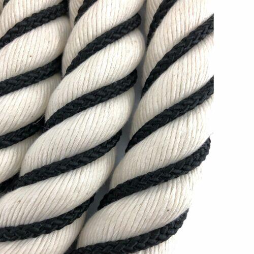 Natural Bannister Corde c//w 4 Satin Accessoires Sélectionnez Vos Options