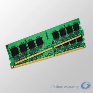 DDR2-667MHz 240-pin DIMM 667 4GB Desktop Ram Memory kit 2x 2GB DIMM