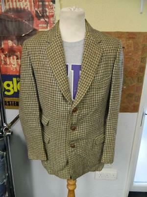 Vintage 1940s 1950s Ga Dunn & Co. Harris Tweed Giacca Blazer - 36-mostra Il Titolo Originale