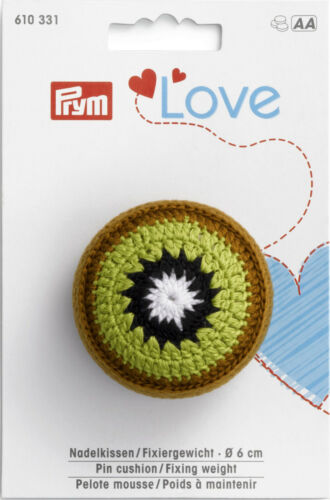 Fixiergewicht Prym Love Kiwi  610331 Nadelkissen