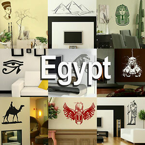 Image Is Loading Egypt Wall Stickers Home Vinyl Transfer Egyptian Graphic