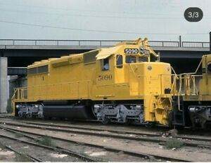ATSF-SD40-2-5090-Custom-Locomotive-HO-with-DCC-Using-Athearn-Parts
