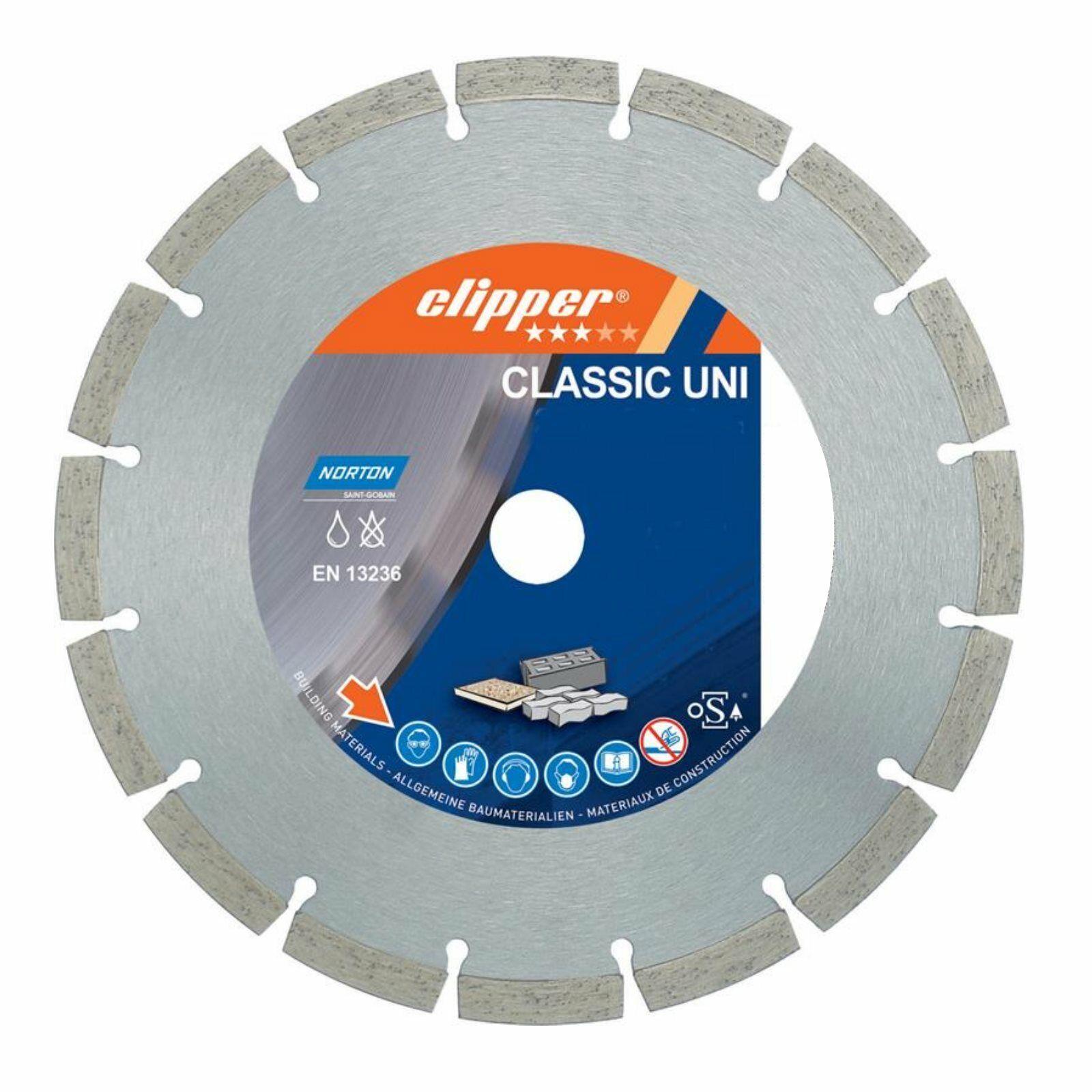 Norton Disque à Tronçonner Diamant Clipper Classic Uni 350x25.4