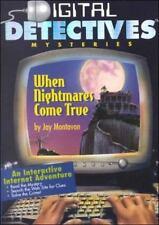 Digital Detective Mysteries When Nightmares Come True Jay R. Montavon (2000, Har