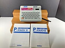 Brother P Touch Iii Electronic Labeling System Model Pt 10 Adhesive Label Maker