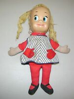 "Vintage Mattel Matty sister Belle Talking Doll - 18"" 1960's"