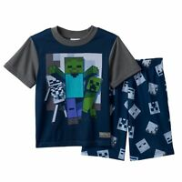 Minecraft Summer Pajama Set Size's 6 - 8 - 10 Mine Craft