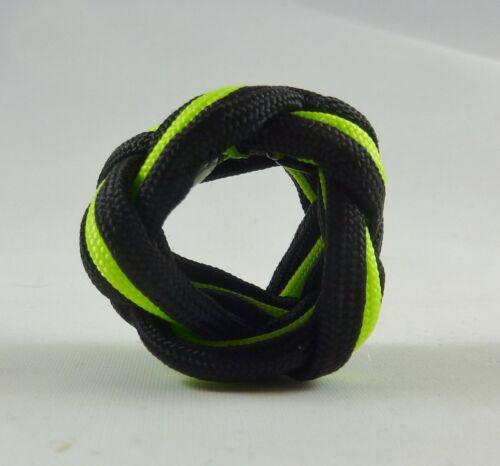 Paracord Neckerchief Woggle Slide Cub Boy Venture Scout Turks Head Knot Handmade