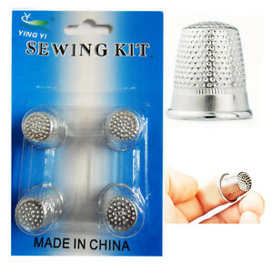4-Fingers-Metal-Shield-Thimble-Sewing-Grip-Finger-Protector-Pin-Needle-Quilting