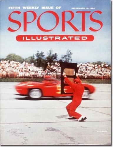 September 13 1954 Auto Racing Fifth 5th Issue of SPORTS ILLUSTRATED
