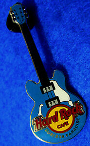 SURFERS PARADISE BLUE 2 STRING CORE GIBSON GUITAR SERIES Hard Rock Cafe PINS