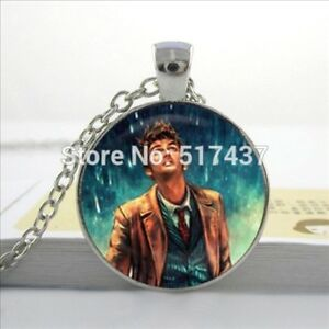 fd79e011d28 New Glass Necklace Doctor Who Pendant Glass Doctor Who Jewelry Glass ...