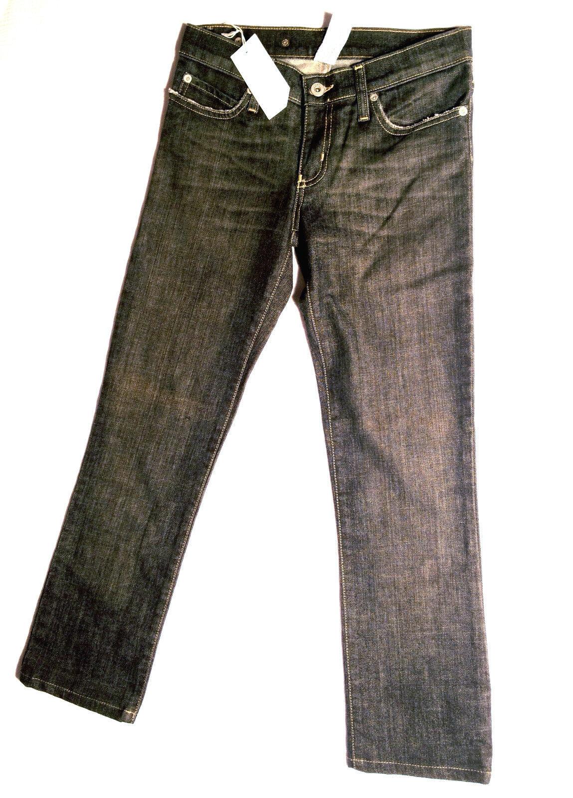 NOBODY Grey Jeans Size W25 L26 AU7 NEW RRP Womens Girls Stretch Slim Skinny