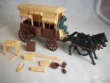 Classic Toy Soldiers Civil War US supply wagon complete