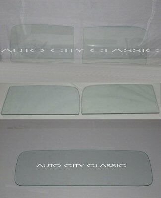 1937 1938 1939 Ford Pickup Truck Glass 1//2 Windshield 1 Piece Clear