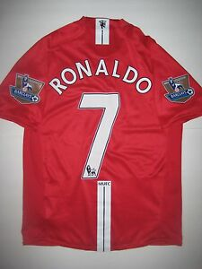 8619be812 Image is loading Manchester-United-Cristiano-Ronaldo-Nike-Kit-Jersey-2007-