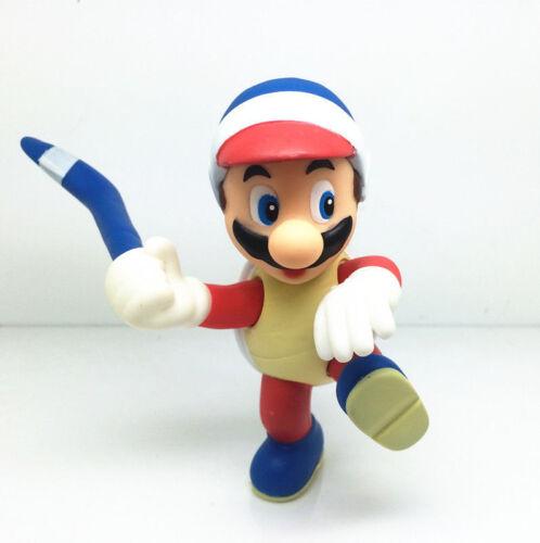 "Super Mario Bros Mario Luigi Bowser Toad Donkey Kong 5/"" Action Figure Doll Toys"