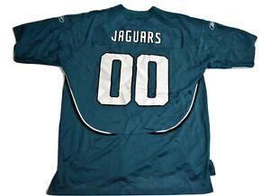 Reebok-Mens-NFL-Jacksonville-Jaguars-00-Football-Jersey-Look-XL