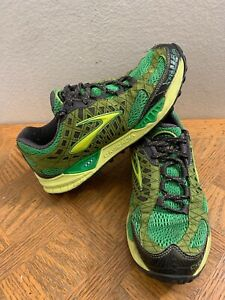 Green Athletic Trail Running Sneakers